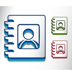 Book icon se vector