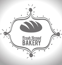Bakery food and gastronomy vector