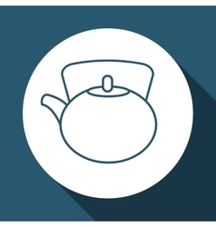 Coffee kettle design vector