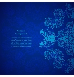 Abstract backround Ethnic ornament vector image