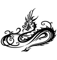 Dragon fantasy vector