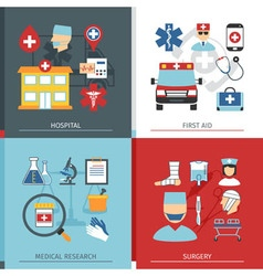 Medical concept set vector