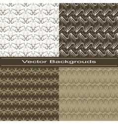 Plants Backgrounds vector image