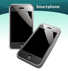 smart phones vector image