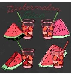 Watermelon 09 a vector