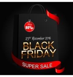 Black Friday 8 vector image
