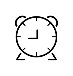 Clock time silhouette white icon graphic vector