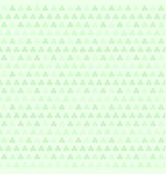 Green shamrock pattern seamless vector