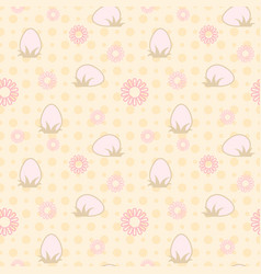 seamless easter abstract delicate background vector image