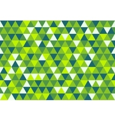 Retro triangle pattern dream in color vector