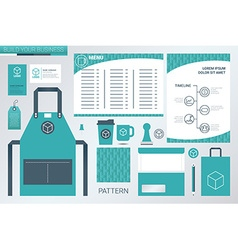 Corporate identity concept vector image