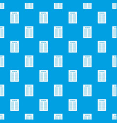 Declaration of independence pattern seamless blue vector
