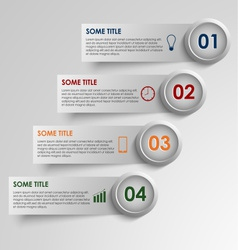 Info graphic striped colored background vector