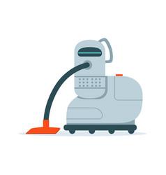 robot vacuum cleaner vector image