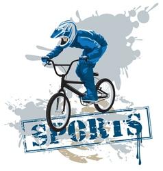 cycle racing vector image
