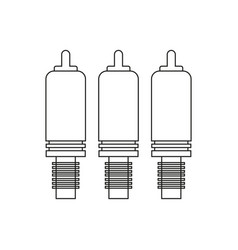 component cable vector image