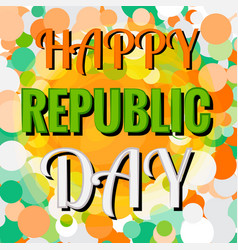 indian republic day 26 january concept vector image vector image