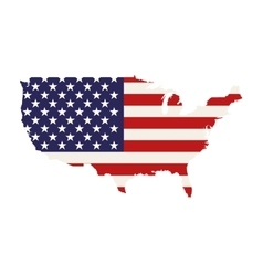 Usa country map vector