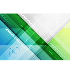 Abstract futuristic background Lines and arrow vector image