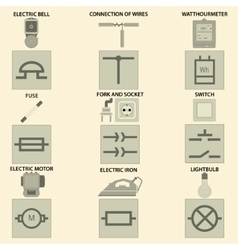 Elements of electric chain vector