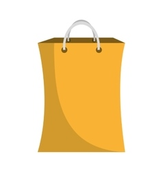shopping bag commercial icon vector image vector image