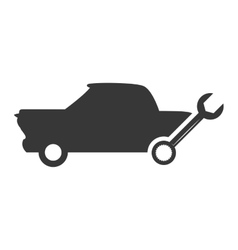Tool repair car automobile design vector