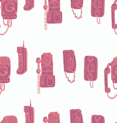 Call me baby seamless pattern vector
