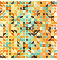 Abstract pattern retro seamless vector