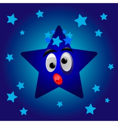 Cartoon star vector image vector image
