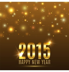 Happy New Year 2015 celebration background vector image