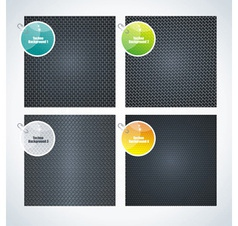 set metal texture vector image