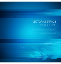 Abstract technology background with lines vector