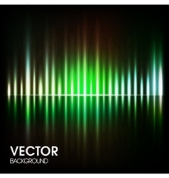 Abstract background with magic light vector
