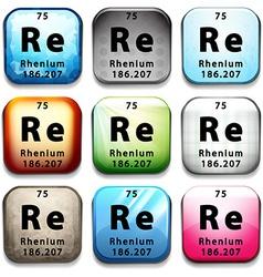 The rhenium element vector