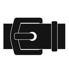 Elegant belt icon simple style vector