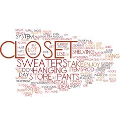 Enjoy your closet text background word cloud vector