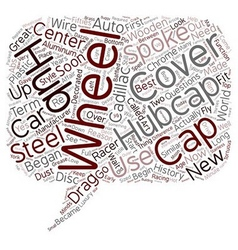 Hubcaps the history of the great cover up text vector
