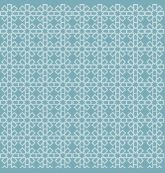 islamic geometric pattern abstract background vector image vector image