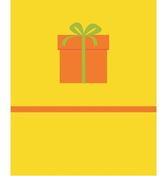 picture of gift vector image