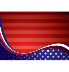 Usa american background vector