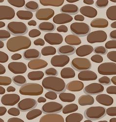 stones pattern vector image
