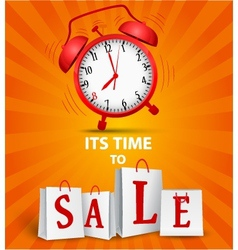 Sale time concept vector image