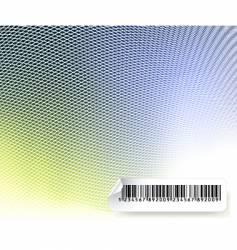 Barcode mesh vector