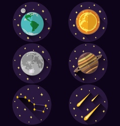 Cosmoss vector image
