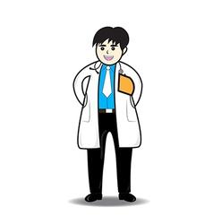 Doctor man vector
