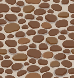 stones pattern vector image