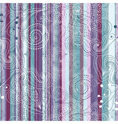 pastel striped pattern vector image
