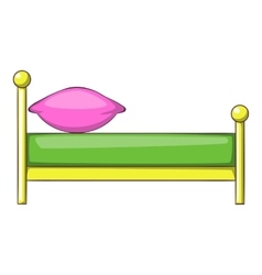 Kid bed icon cartoon style icon cartoon style vector