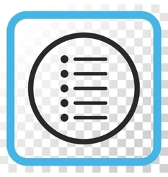Items Icon In a Frame vector image