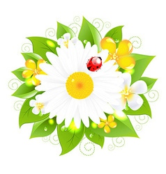 Flowers for design vector
